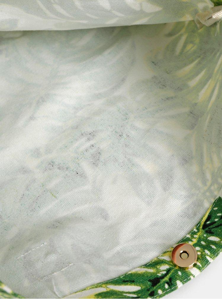Zelená vzorovaná taška Haily´s Malibu