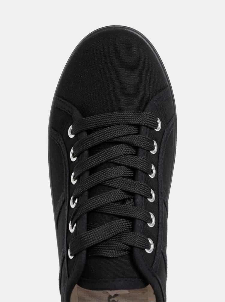 Čiern dámske tenisky na platforme Haily´s Pina
