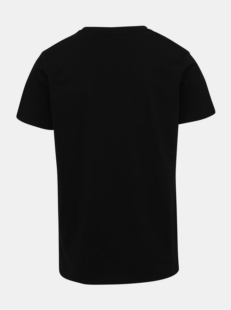 Čierne pánske tričko s potlačou Haily´s Music
