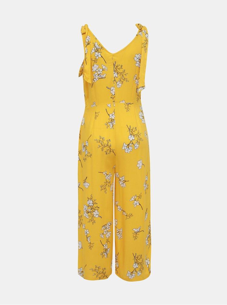 Žlutý květovaný overal Jacqueline de Yong Kenya