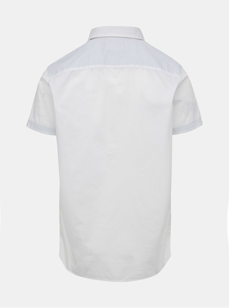 Bílá slim fit košile s kapsou Selected Homme Bobby