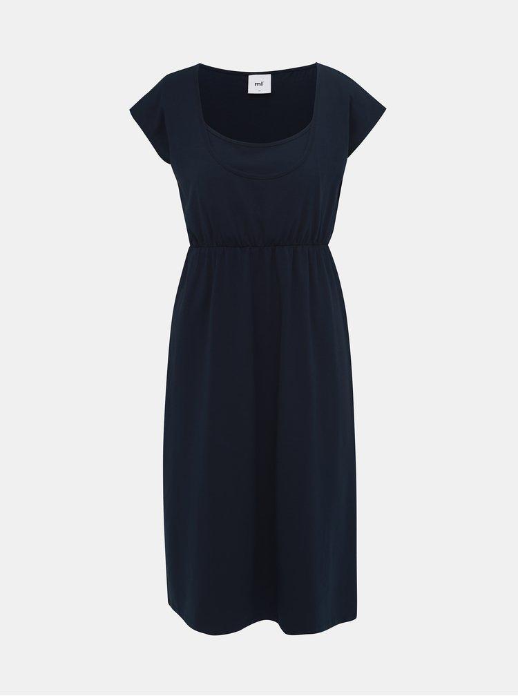 Tmavě modré kojicí šaty Mama.licious Pera