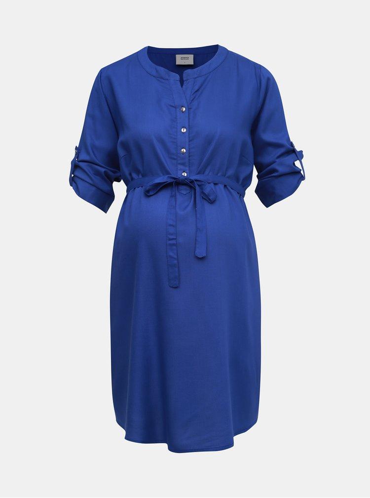 Modrá těhotenská tunika Mama.licious Mercy