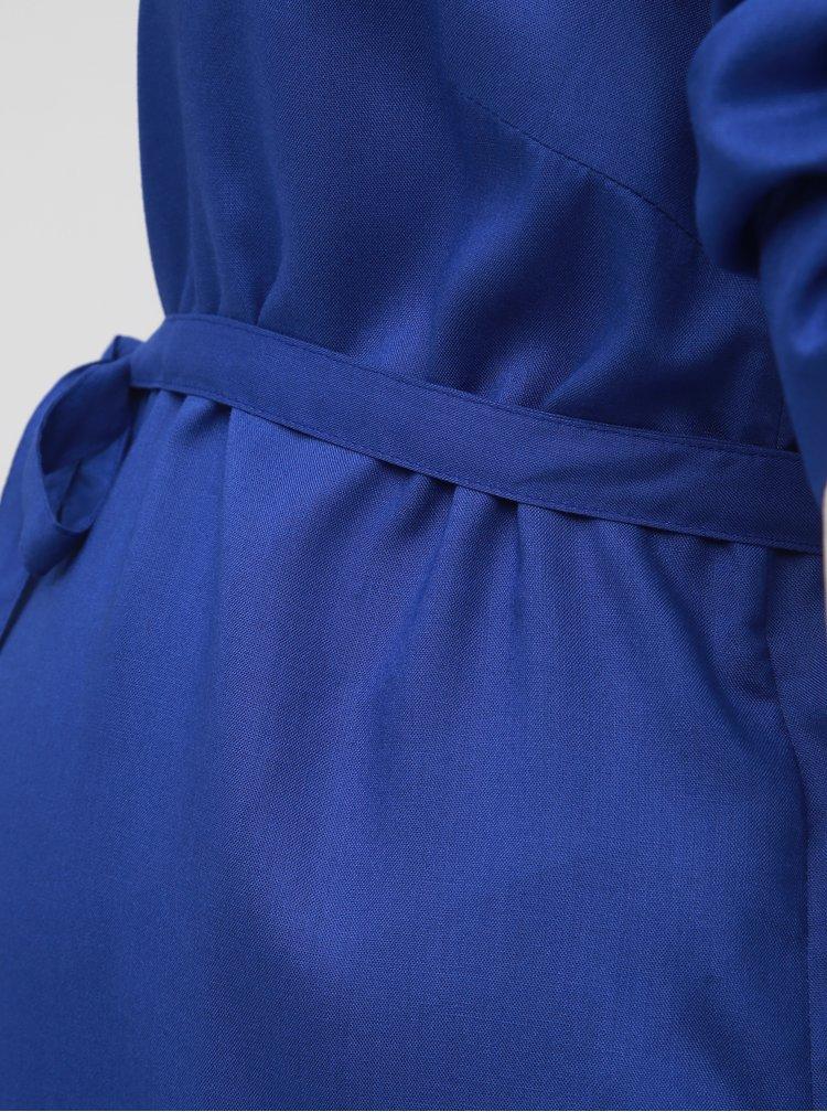 Modrá těhotenská dlouhá košile Mama.licious Mercy