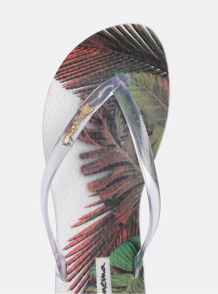 Transparentné žabky Ipanema Wave Tropical