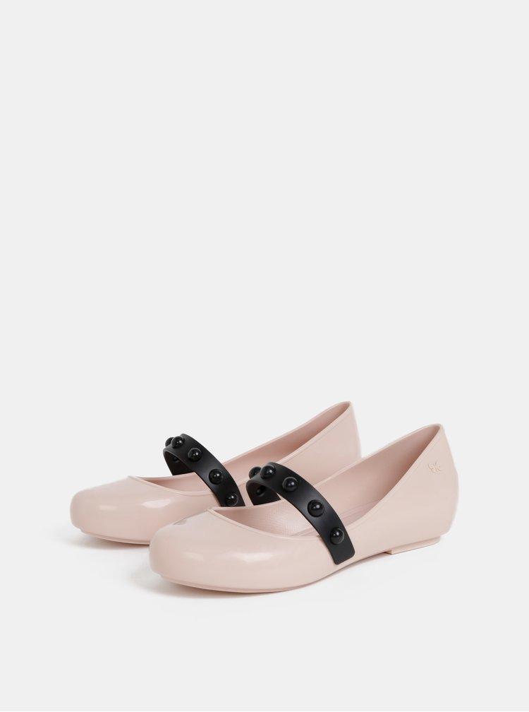 Světle růžové baleríny Zaxy New Pop