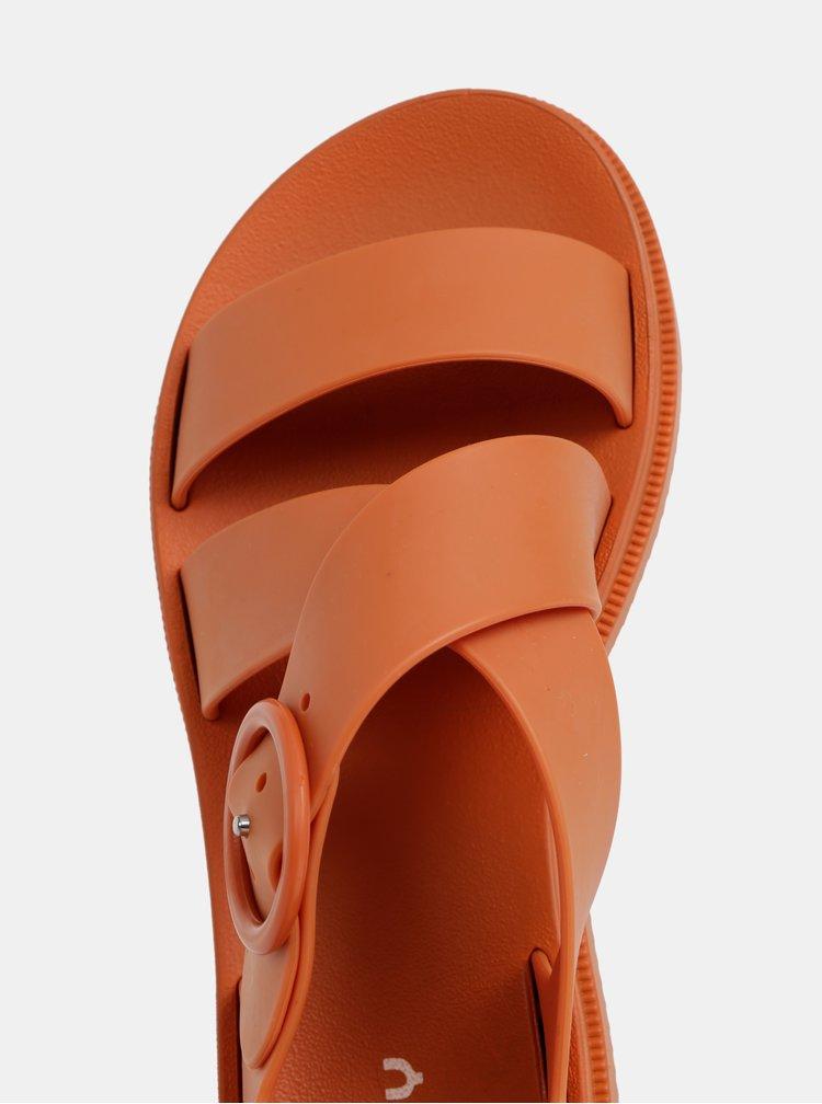 Oranžové sandále Zaxy Street