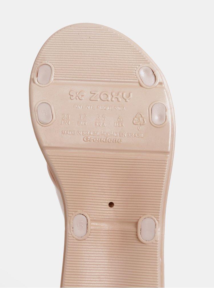 Svetloružové sandále Zaxy Talk Sand Plat