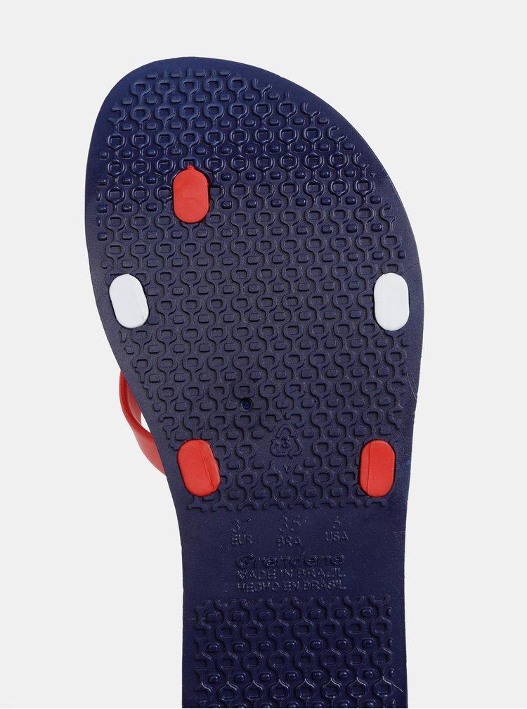 Modro-červené žabky Ipanema Kirei