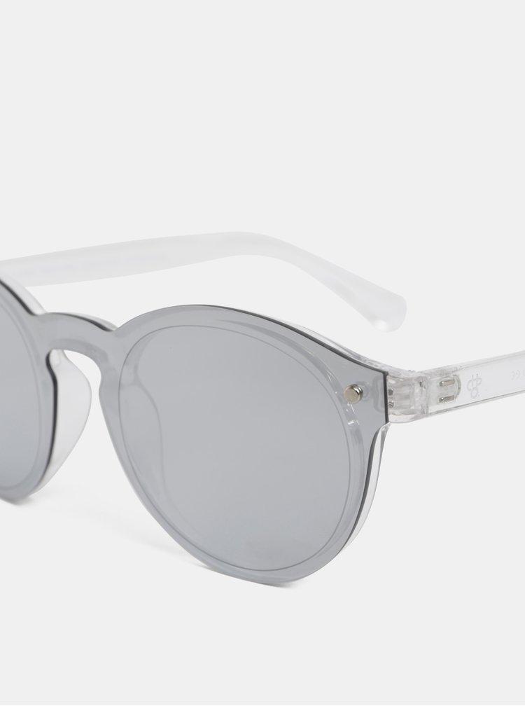Dámské sluneční brýle ve stříbrné barvě CHPO McFly