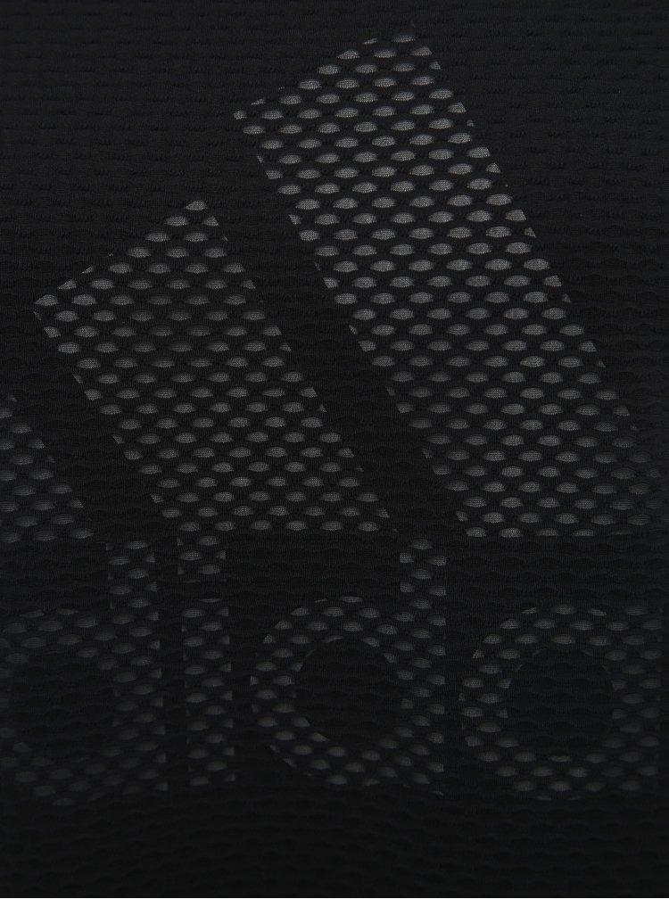 Černé šaty adidas Performance