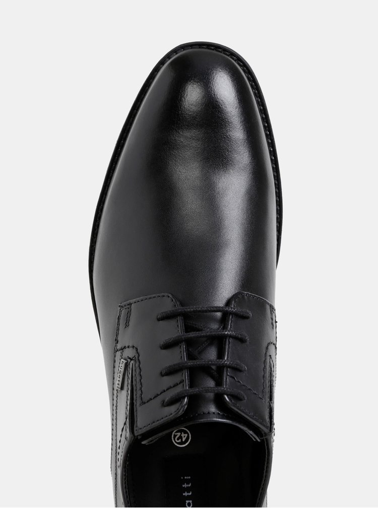 Pantofi bugatti negri din piele