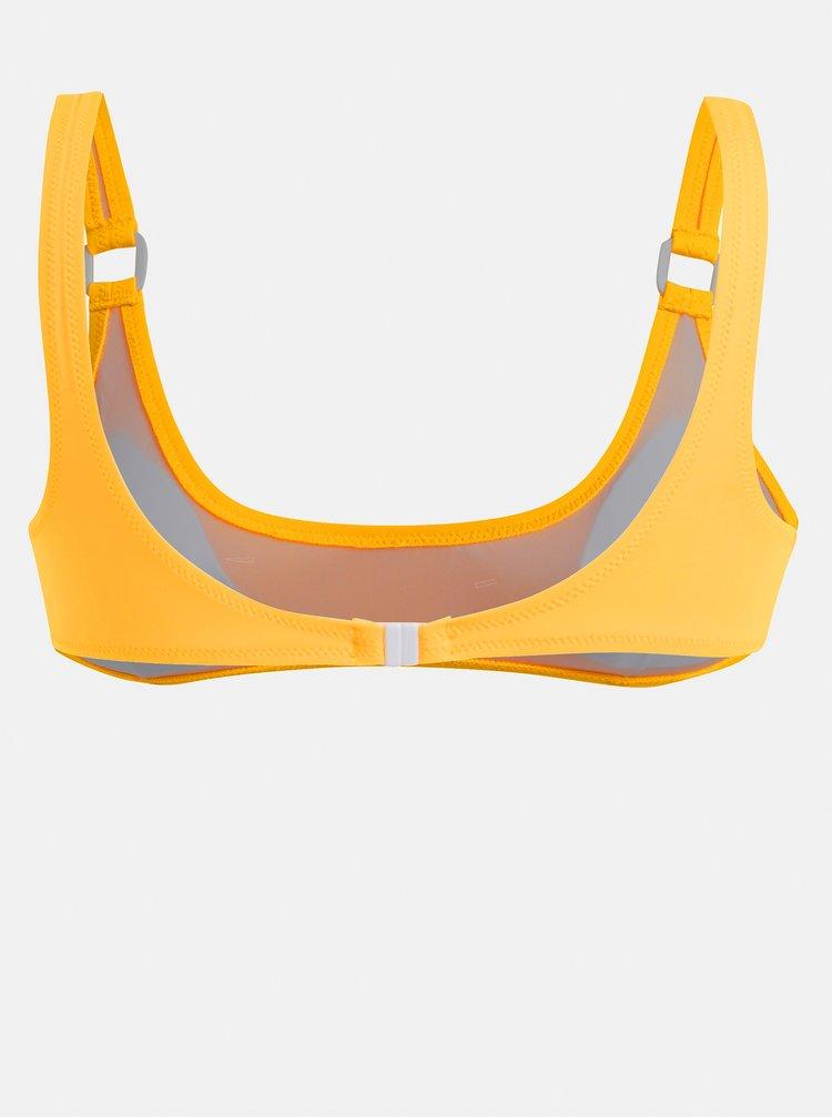 Žlutý dámský horní díl plavek Rip Curl