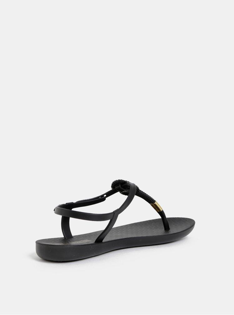 Čierne sandále Ipanema Glass