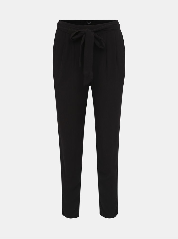 Čierne dámske nohavice M&Co Petite