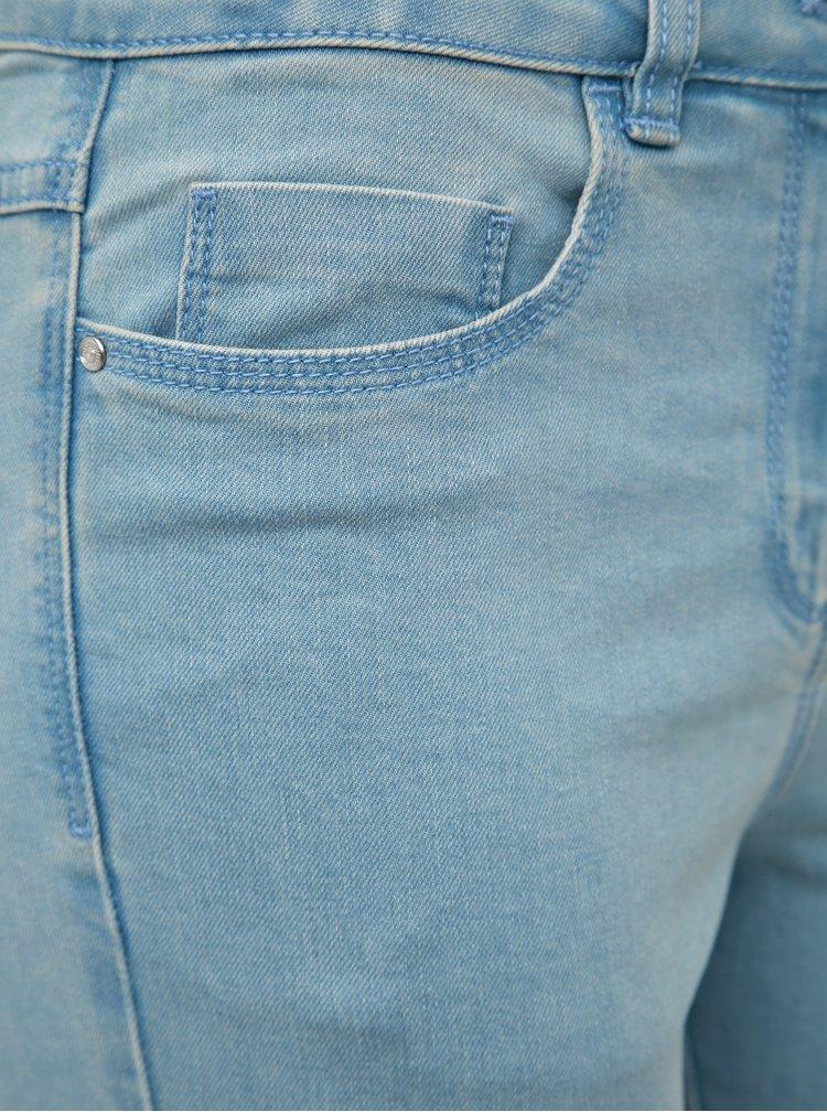 Světle modré dámské straight fit džíny M&Co