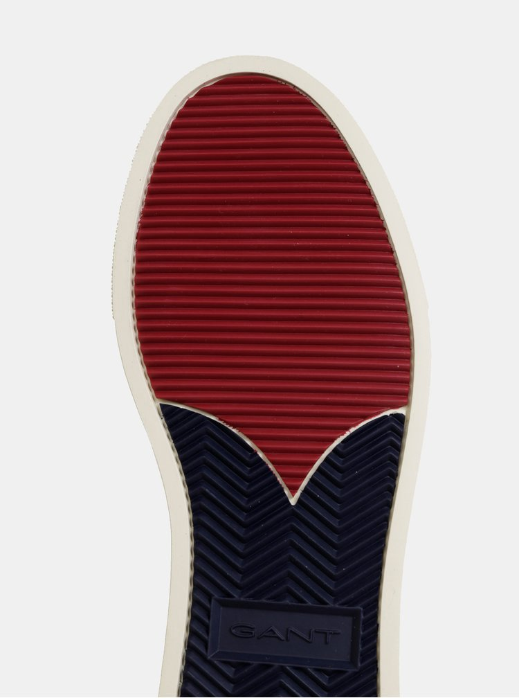 Krémové pánské tenisky s koženými detaily GANT Denver