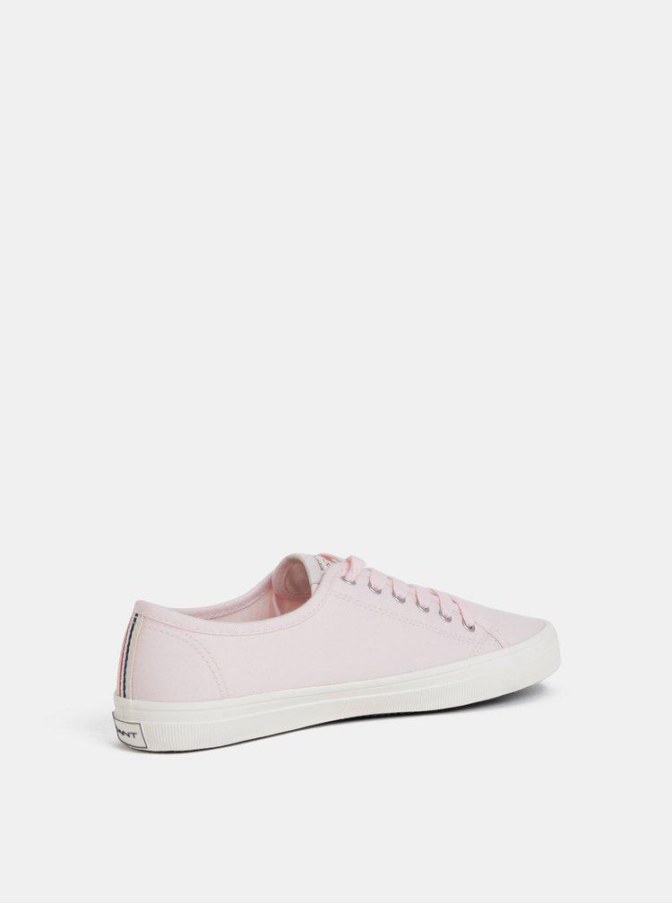 Světle růžové dámské tenisky GANT New Heaven