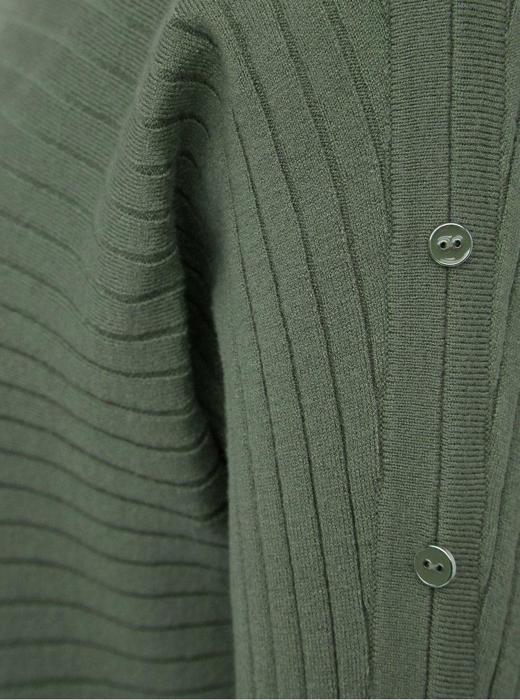Kaki sveter M&Co Petite