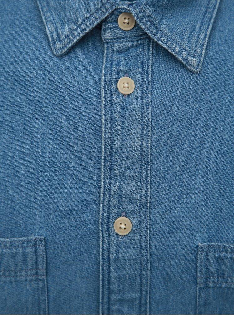 Modrá džínová košile Selected Homme Vincent