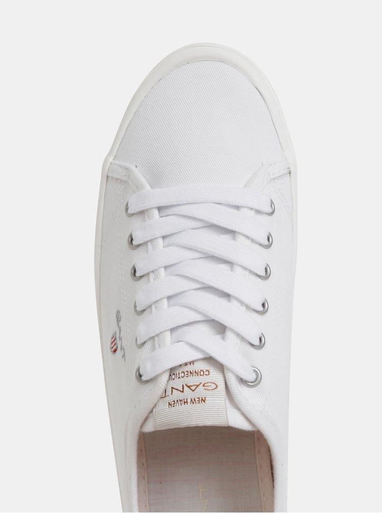 Biele dámske tenisky GANT New Heaven