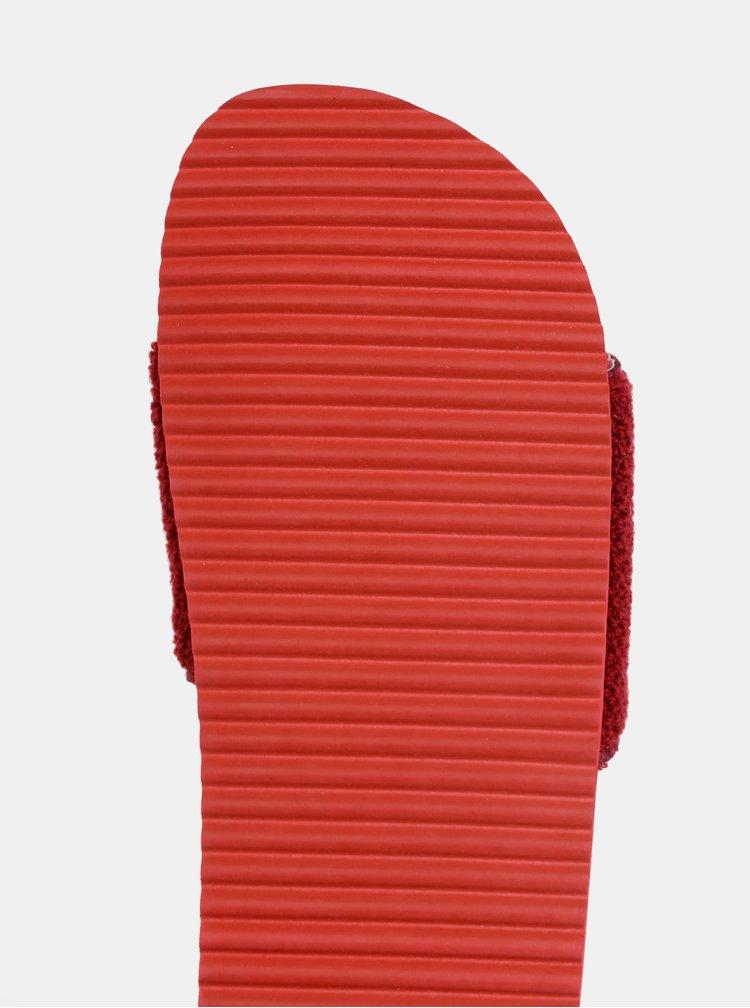 Červené dámske šľapky GANT Haley