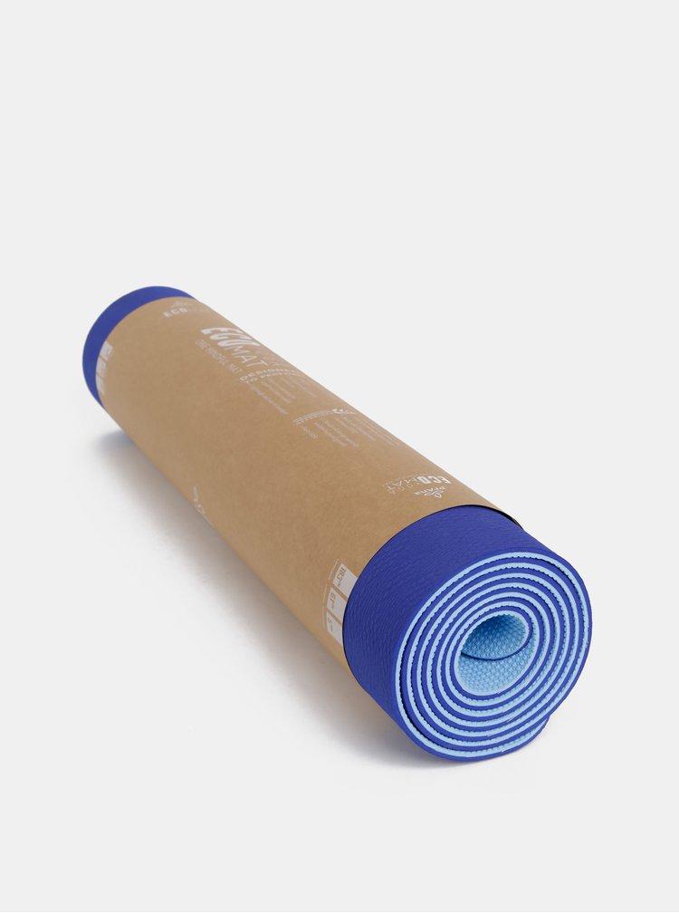 Modrá podložka na jógu prAna E.C.O.
