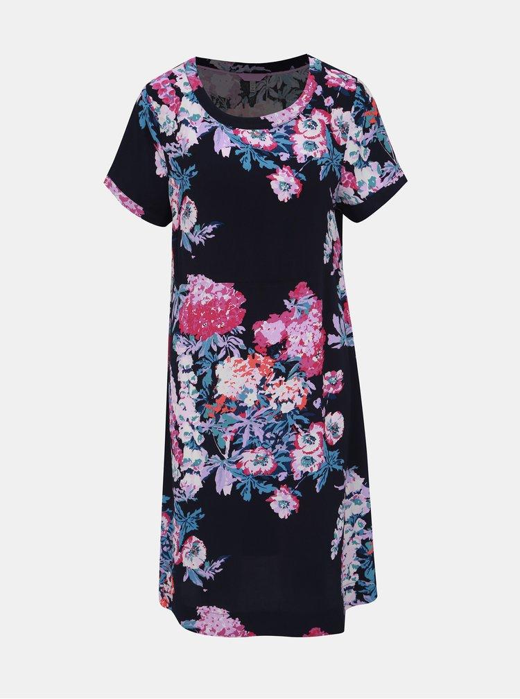 Tmavě modré květované šaty Tom Joule Florel