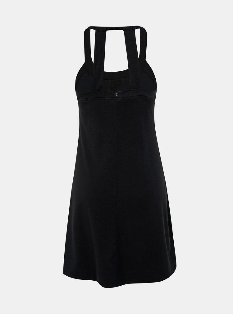 Čierne šaty prAna Cantine