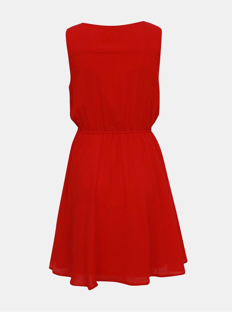 Červené šaty Apricot