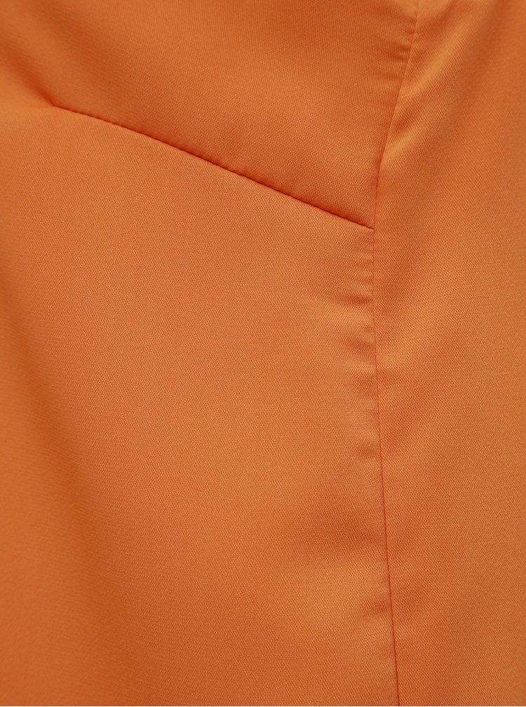 Oranžový top VERO MODA Miami
