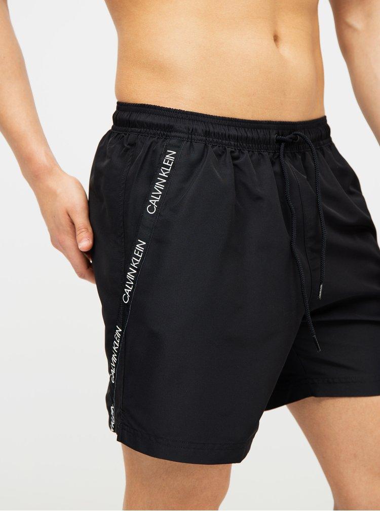Čierne pánske plavky Calvin Klein Underwear