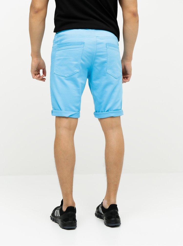 Modré pánske rifľové kraťasy Tom Tailor