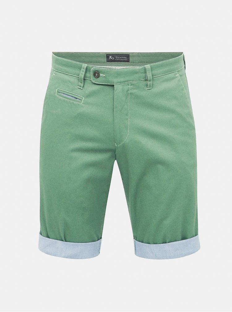 Pantaloni scurti verzi SEMPRE Franco