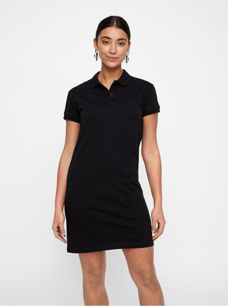 Čierne basic šaty Noisy May