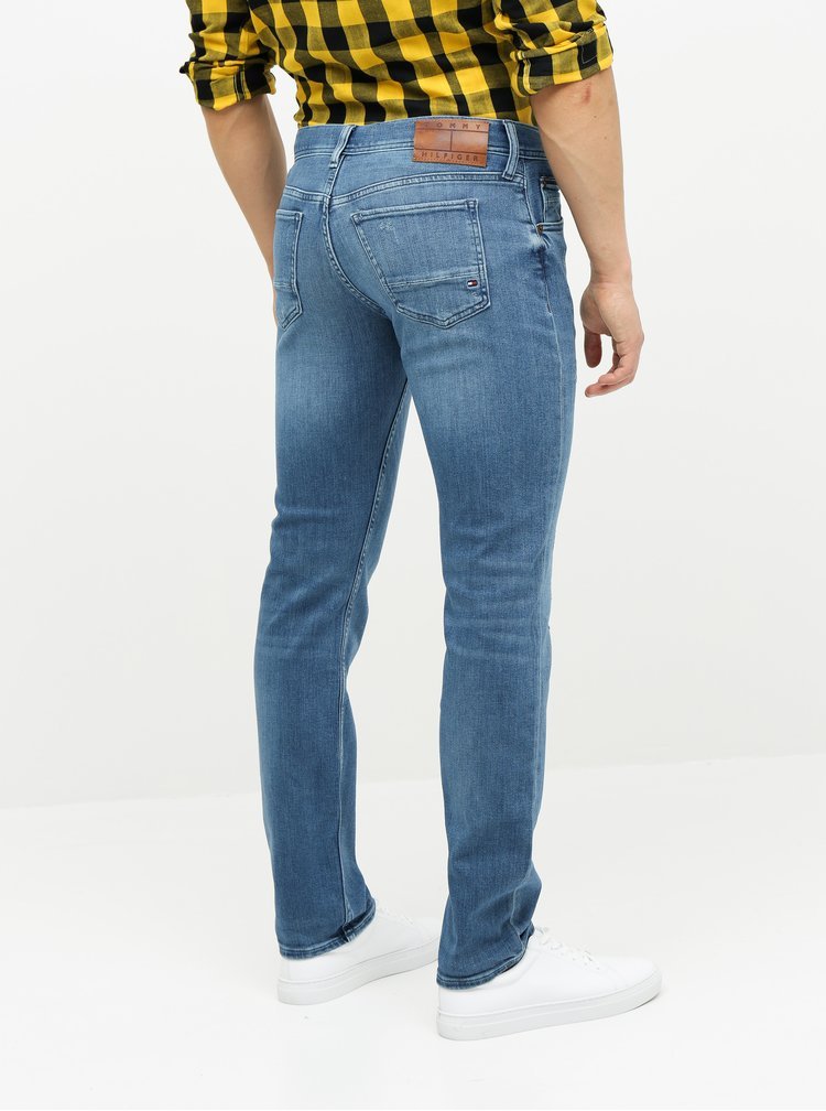Modré pánské slim fit džíny Tommy Hilfiger