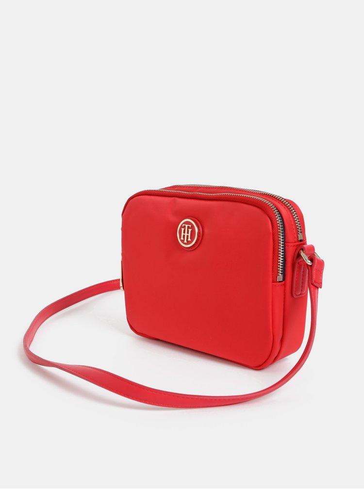 Červená crossbody kabelka Tommy Hilfiger Poppy