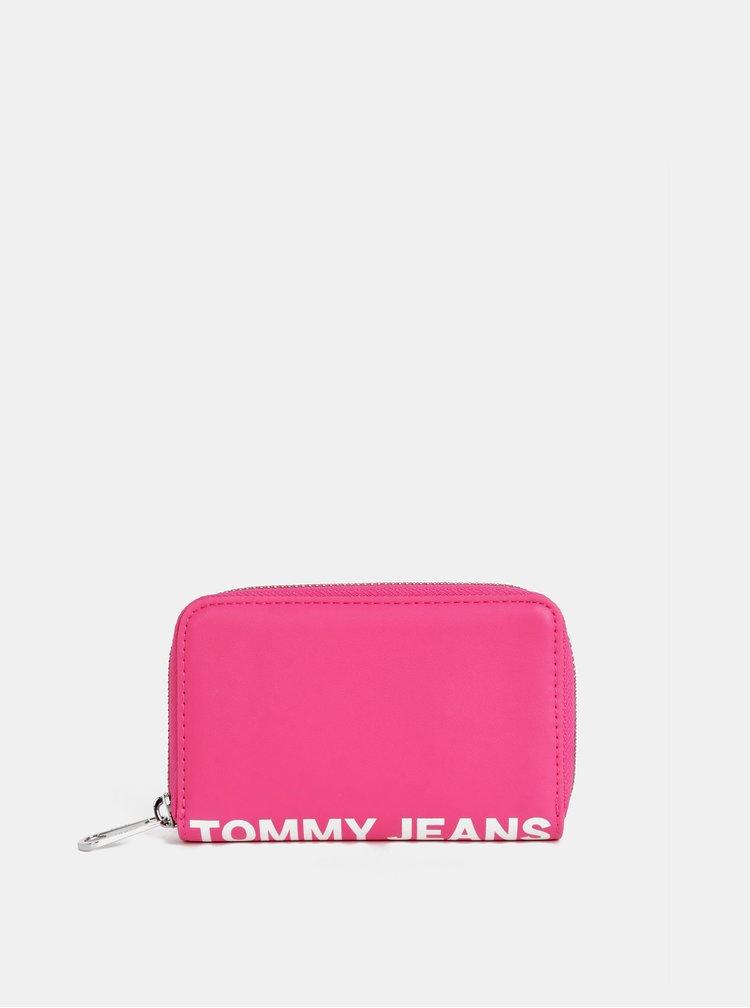 Růžová dámská peněženka Tommy Hilfiger Femme