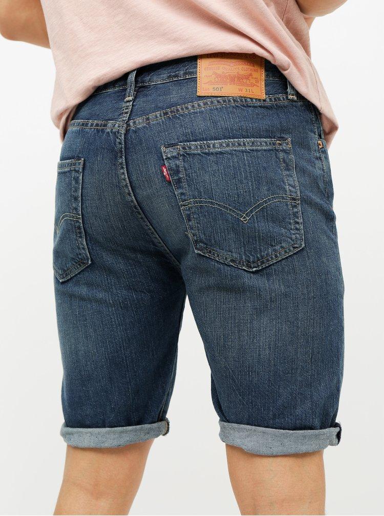 Tmavě modré džínové kraťasy Levi's® 501