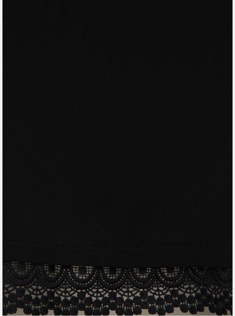 Černý top Jacqueline de Yong Famous