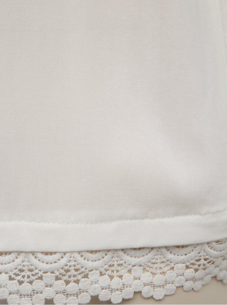 Bílý top Jacqueline de Yong Famous