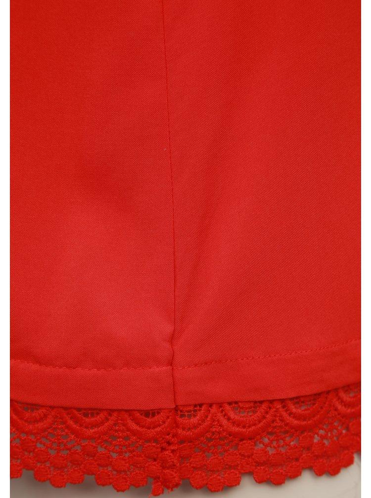 Červený top Jacqueline de Yong Famous