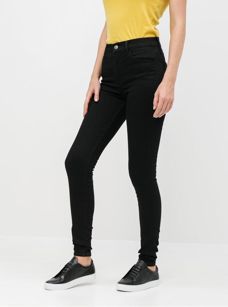 Černé dámské super skinny fit džíny Levi's® 720