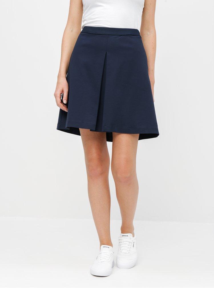 Tmavomodrá sukňa Tommy Hilfiger Cara