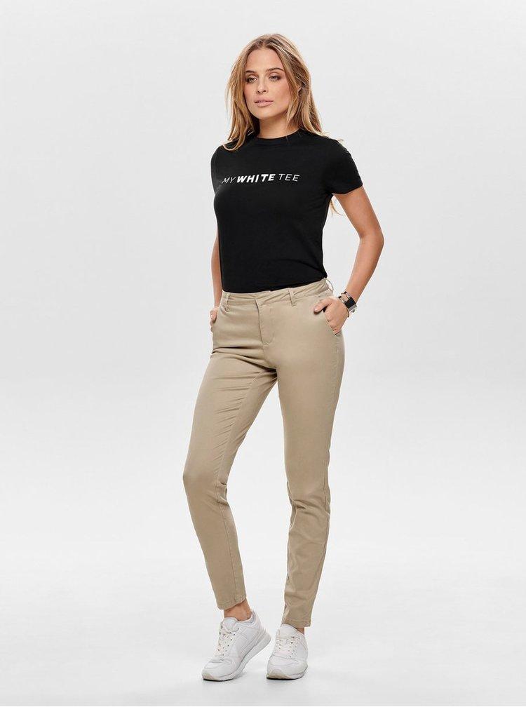 Béžové chino kalhoty ONLY Monaco
