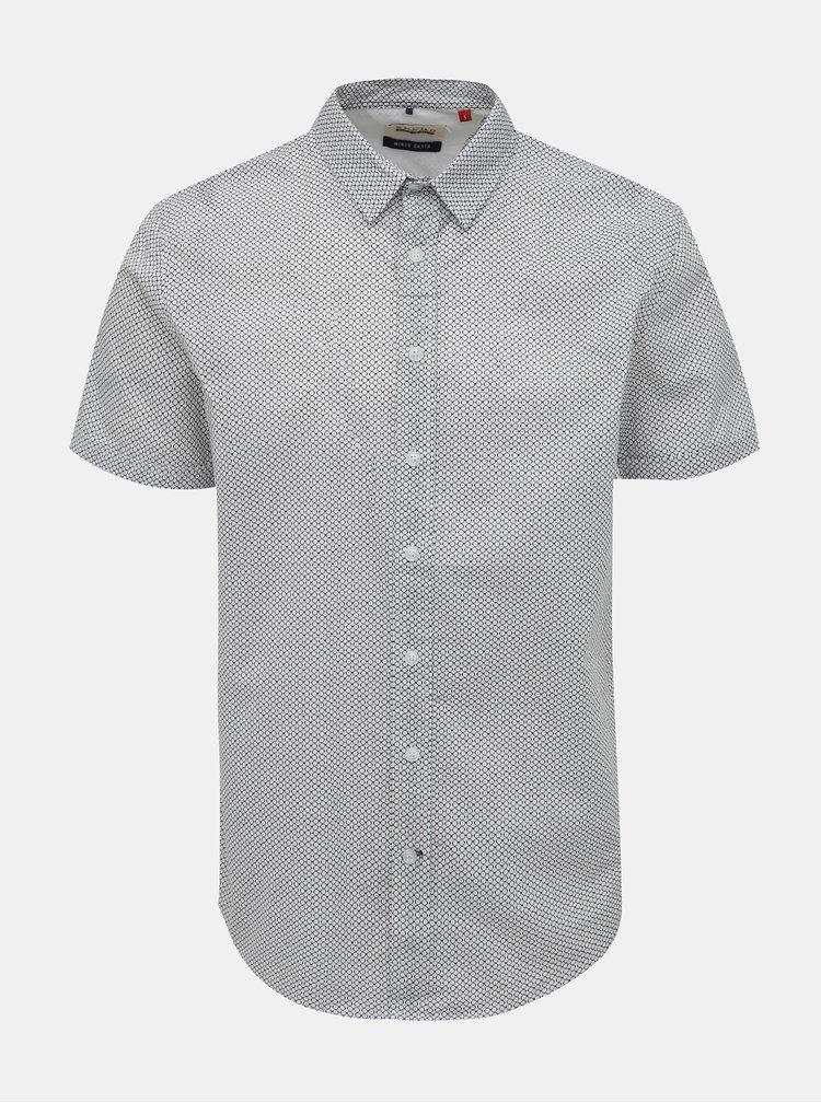 Bílá vzorovaná košile Blend
