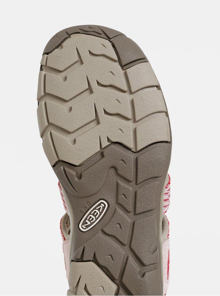 Rúžové dámske sandále Keen Clearwater CNX