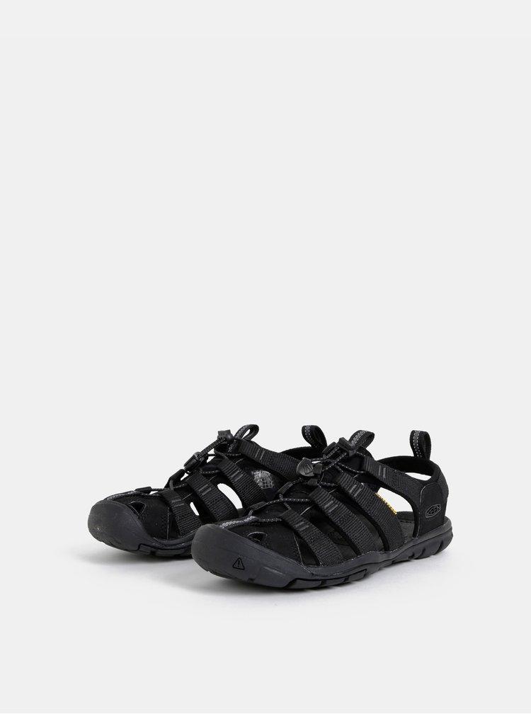 Čierne dámske sandále Keen Clearwater CNX