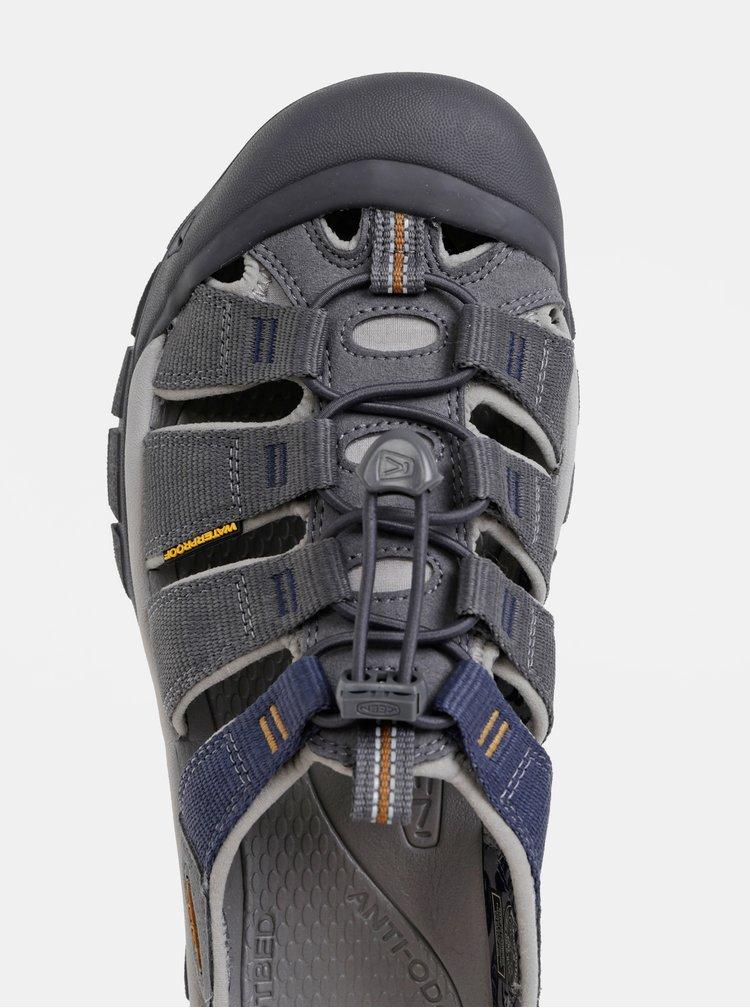 Šedé pánske sandále Keen Newport