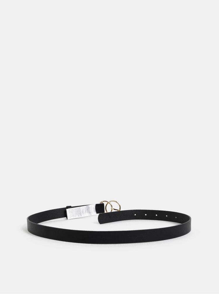 Černý pásek Pieces Elisa
